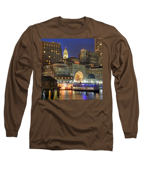 Boston Harbor Party Long Sleeve T-Shirt