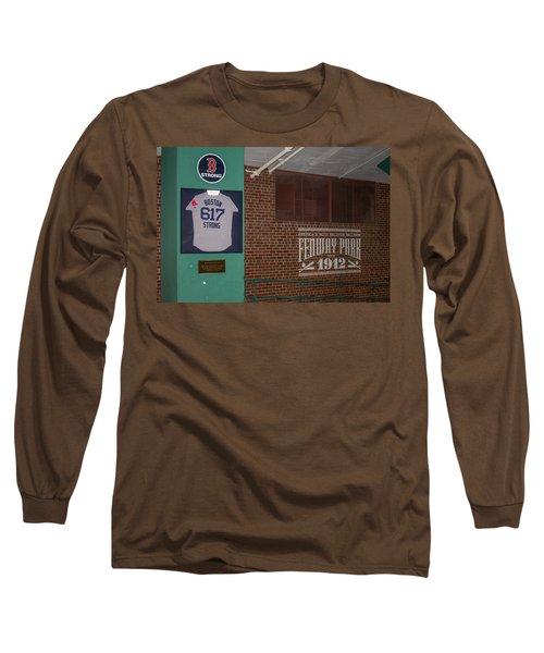 Boston Strong Long Sleeve T-Shirt by Tom Gort