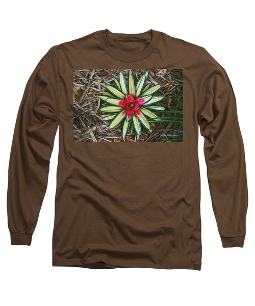 Long Sleeve T-Shirt featuring the photograph Botanical Flower by Tom Janca