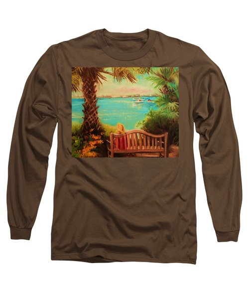 Botanical View Long Sleeve T-Shirt