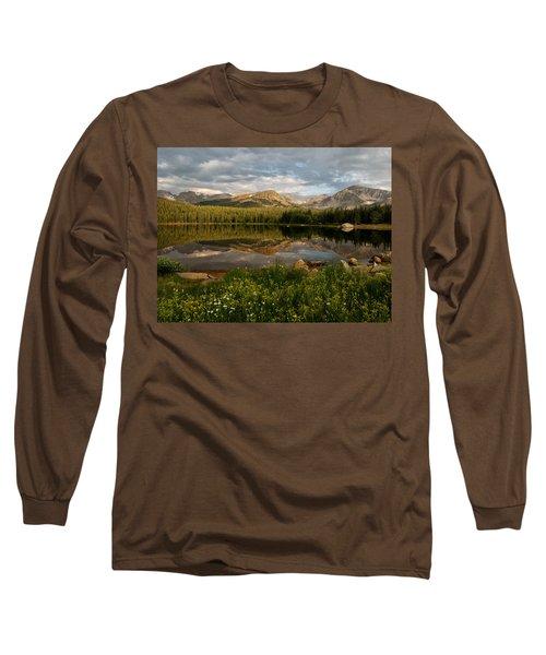 Long Sleeve T-Shirt featuring the photograph Brainard Lake by Ronda Kimbrow