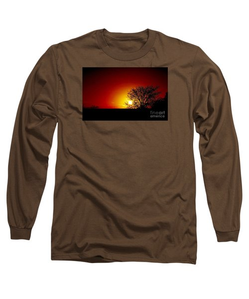Breaking Dawn Long Sleeve T-Shirt by Amar Sheow