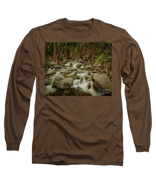 Bridalveil Creek In Yosemite Long Sleeve T-Shirt
