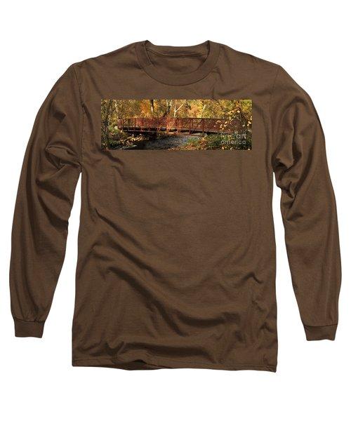 Bridge On Big Chico Creek Long Sleeve T-Shirt