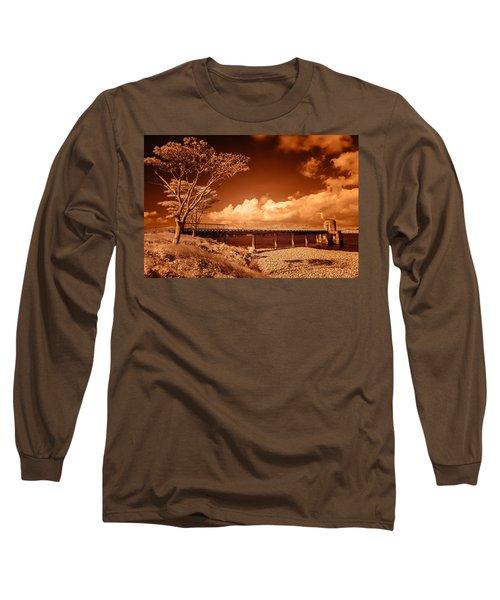 Bridge On The Lake Long Sleeve T-Shirt