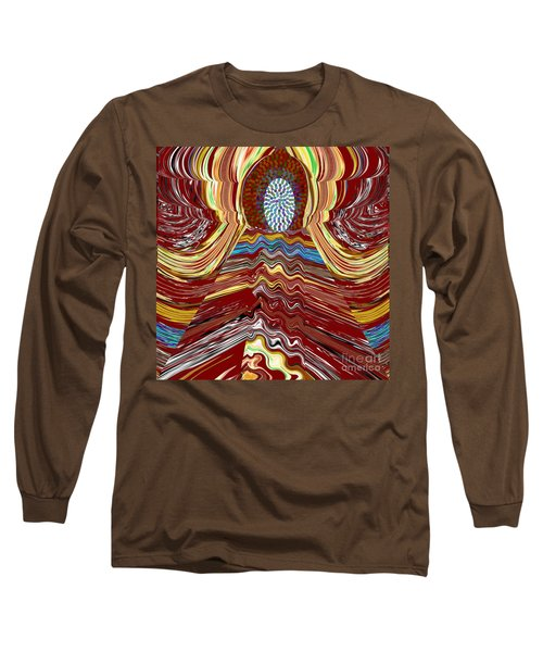 Bridge To Holy Grail Of Mystical Energies Whimisical Abstract By Navinjoshi At Fineartamerica.com  Long Sleeve T-Shirt
