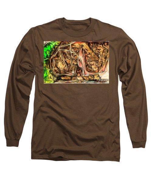 Bright Gloomy Roar Oar  Long Sleeve T-Shirt