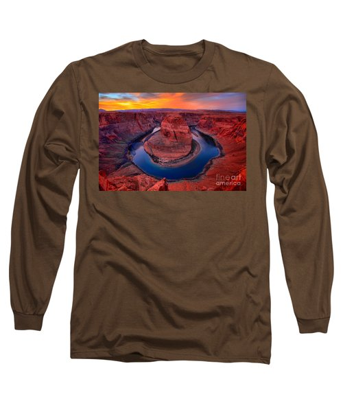 Bright Skies Over Horseshoe Long Sleeve T-Shirt