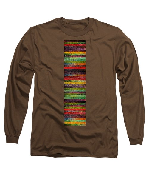 Brocade And Stripes Tower 1.0 Long Sleeve T-Shirt