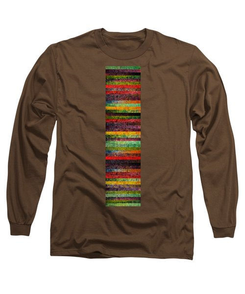 Brocade And Stripes Tower 2.0 Long Sleeve T-Shirt