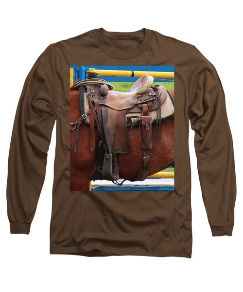Long Sleeve T-Shirt featuring the photograph Broke In by Ann E Robson