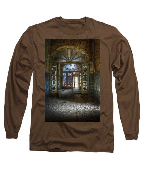 Broken Beauty Long Sleeve T-Shirt by Nathan Wright
