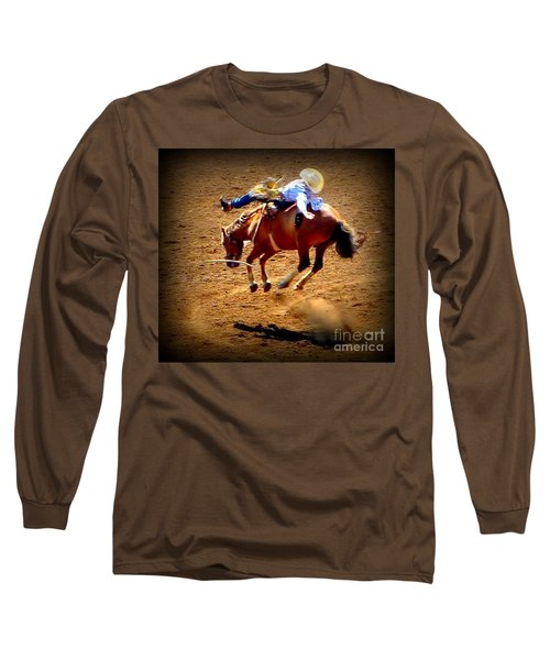 Bucking Broncos Rodeo Time Long Sleeve T-Shirt