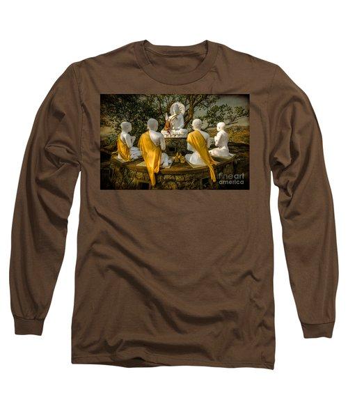 Buddha Lessons Long Sleeve T-Shirt