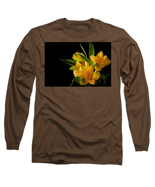 Long Sleeve T-Shirt featuring the photograph Budding Flowers by Sennie Pierson