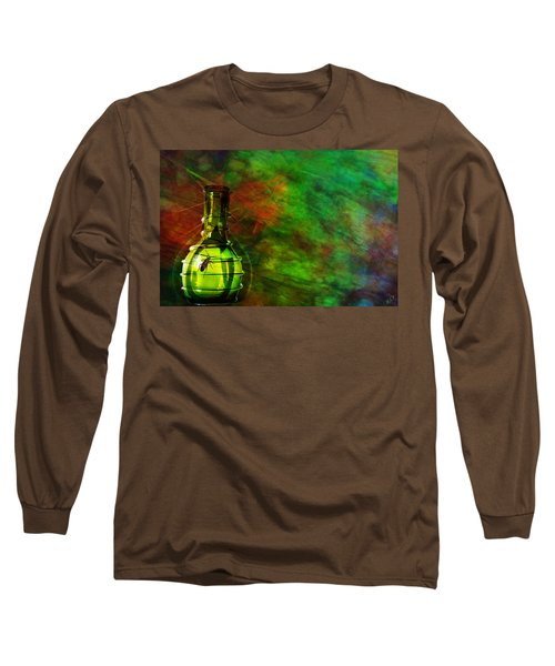 Long Sleeve T-Shirt featuring the mixed media Bugs by Ally  White