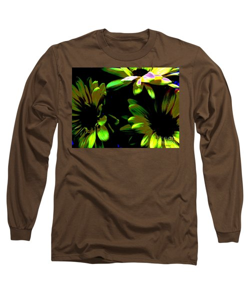 Long Sleeve T-Shirt featuring the photograph Burst by Greg Patzer