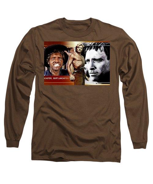 Long Sleeve T-Shirt featuring the digital art Burt by Hartmut Jager