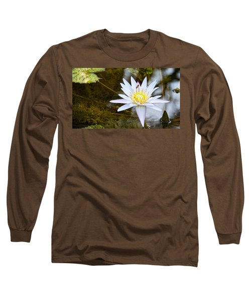 Long Sleeve T-Shirt featuring the photograph Busy Bee by Dave Files