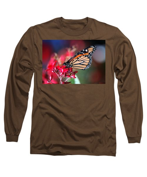 Long Sleeve T-Shirt featuring the photograph Butterfly 2 by Leticia Latocki