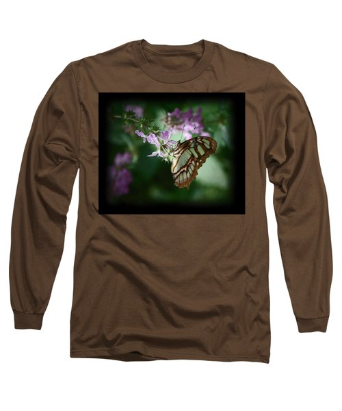 Long Sleeve T-Shirt featuring the photograph Butterfly 7 by Leticia Latocki