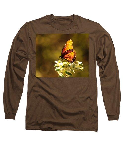 Butterfly In Sun Long Sleeve T-Shirt