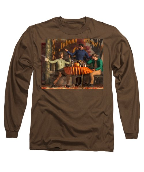 Cafe Philosophy Long Sleeve T-Shirt