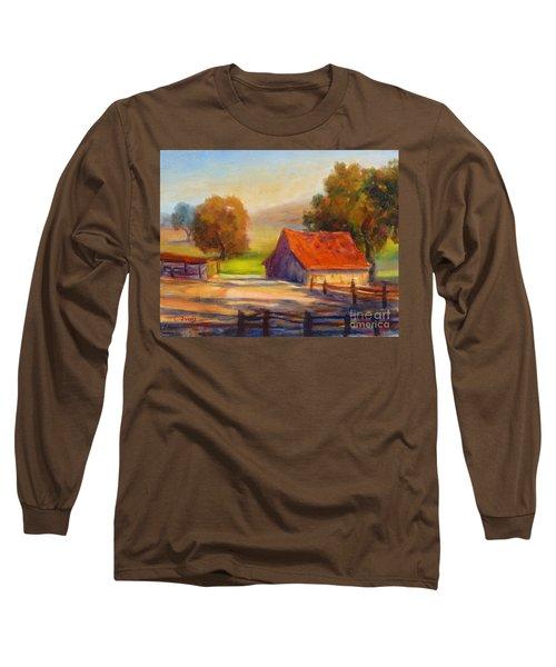 California Barn Long Sleeve T-Shirt