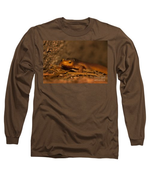 California Newt Long Sleeve T-Shirt by Ron Sanford