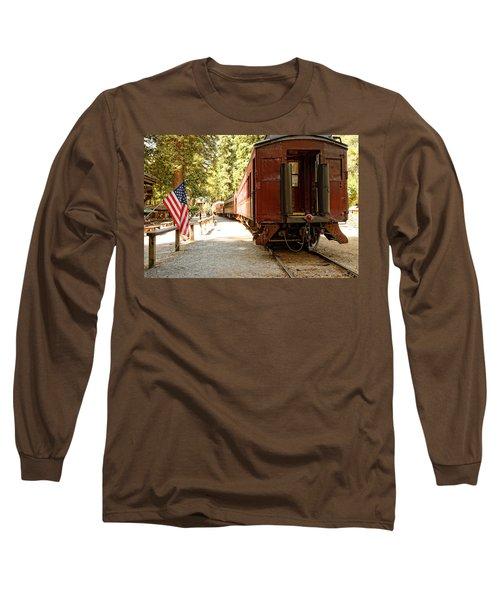 California Western Railroad Long Sleeve T-Shirt