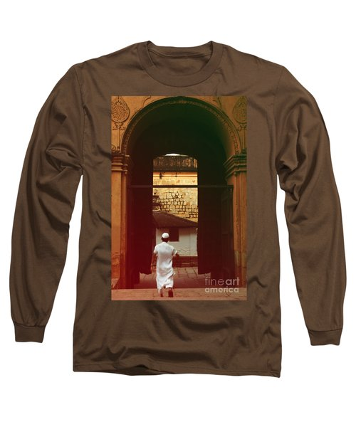 Long Sleeve T-Shirt featuring the photograph Call To Prayer by Mini Arora