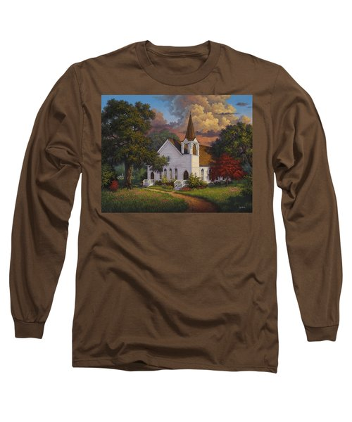 Long Sleeve T-Shirt featuring the painting Called To Praise by Kyle Wood