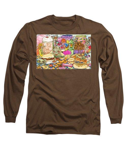 Calorie Gremlins Long Sleeve T-Shirt