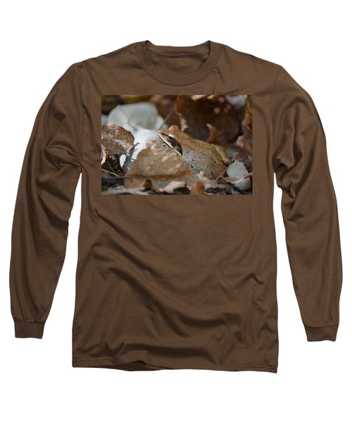 Camouflage Long Sleeve T-Shirt by James Petersen