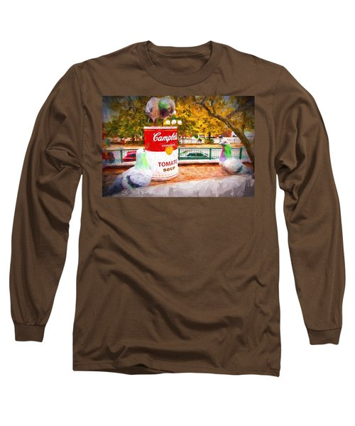 Campbell's Soup Long Sleeve T-Shirt by Bill Howard