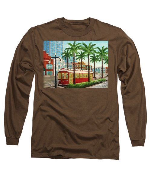 Canal Street Car Line I I Long Sleeve T-Shirt