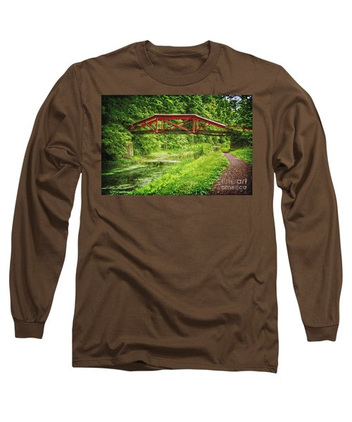 Canal Bridge Long Sleeve T-Shirt