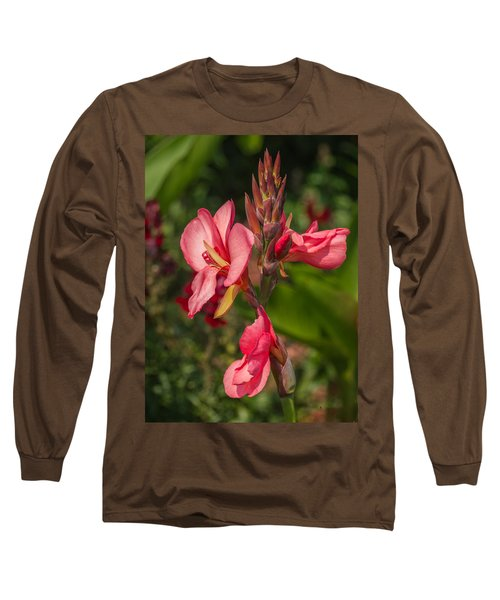 Canna Lily Long Sleeve T-Shirt