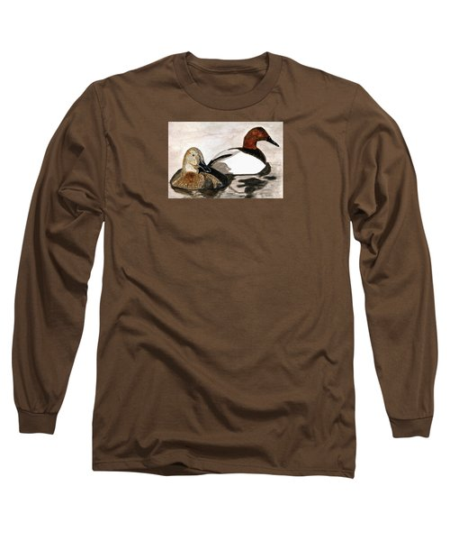 Canvasback Couple Long Sleeve T-Shirt