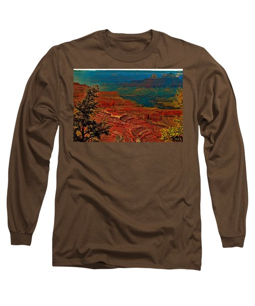 Canyon Colours Show Through Long Sleeve T-Shirt