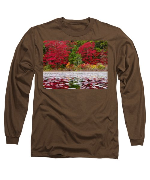 Long Sleeve T-Shirt featuring the photograph Cape Cod Autumn by Dianne Cowen