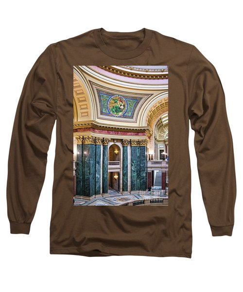Capitol - Madison - Wisconsin Long Sleeve T-Shirt