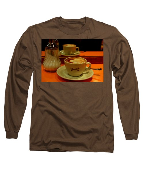 Long Sleeve T-Shirt featuring the photograph Cappuccino by Caroline Stella