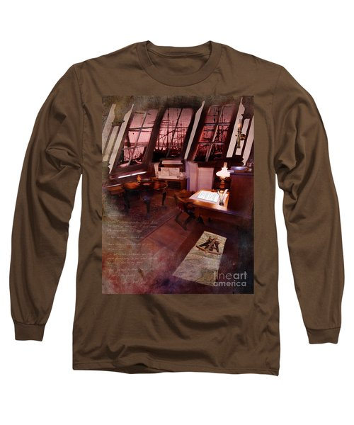 Captain's Cabin On The Dicey Long Sleeve T-Shirt