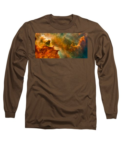 Carina Nebula Details - Great Clouds Long Sleeve T-Shirt