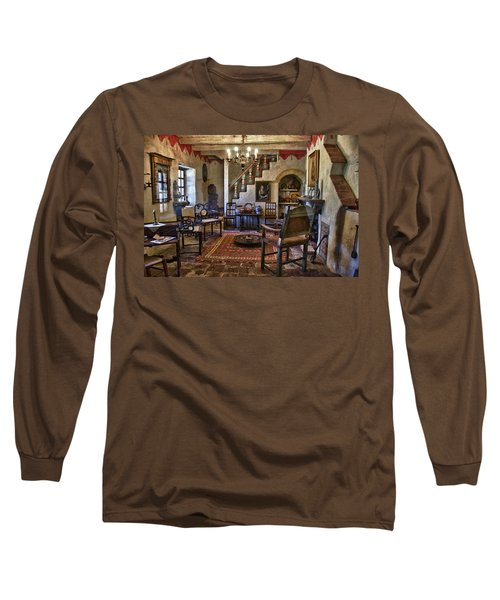 Carmel Mission 6 Long Sleeve T-Shirt by Ron White