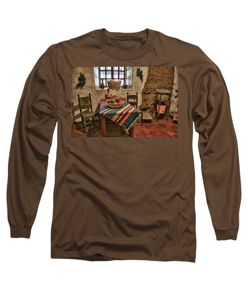 Carmel Mission 7 Long Sleeve T-Shirt by Ron White