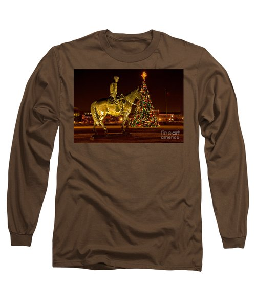 Long Sleeve T-Shirt featuring the photograph Carol Of Lights by Mae Wertz
