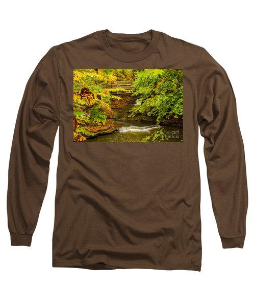 Cascadilla Gorge Cornell University Long Sleeve T-Shirt