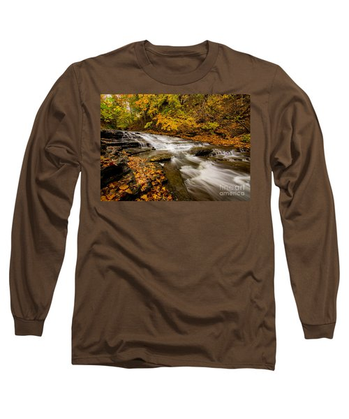 Cascadilla Gorge Trail Long Sleeve T-Shirt